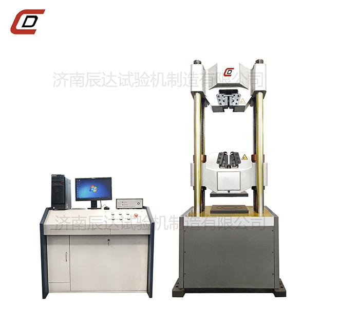 试验机的主要结构和工作原理。